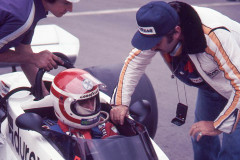 Photo of F1 Surtees with driver Hans Stuck. 1977 F1 LBGP