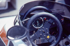 Photo of F1 Surtees cockpit. 1977 F1 LBGP