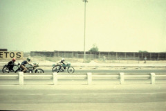Photo of the start of an Open GP Race at OCIR.  1972