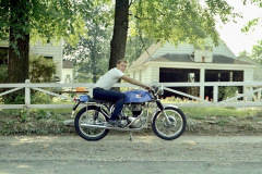 Photo of my Brand New 1969 Dunstall Norton.